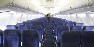 This is the germiest place on an airplane