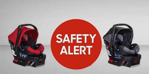 Britax Issues Massive Recall
