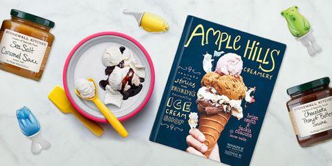Gelato, Ice cream, Frozen dessert, Food, Dairy, Dessert, Ingredient, Sundae, Cuisine, Breakfast,