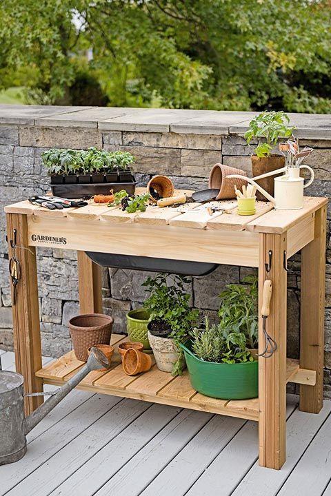 Outdoor Organizer. LWO. Buy A Potting Bench