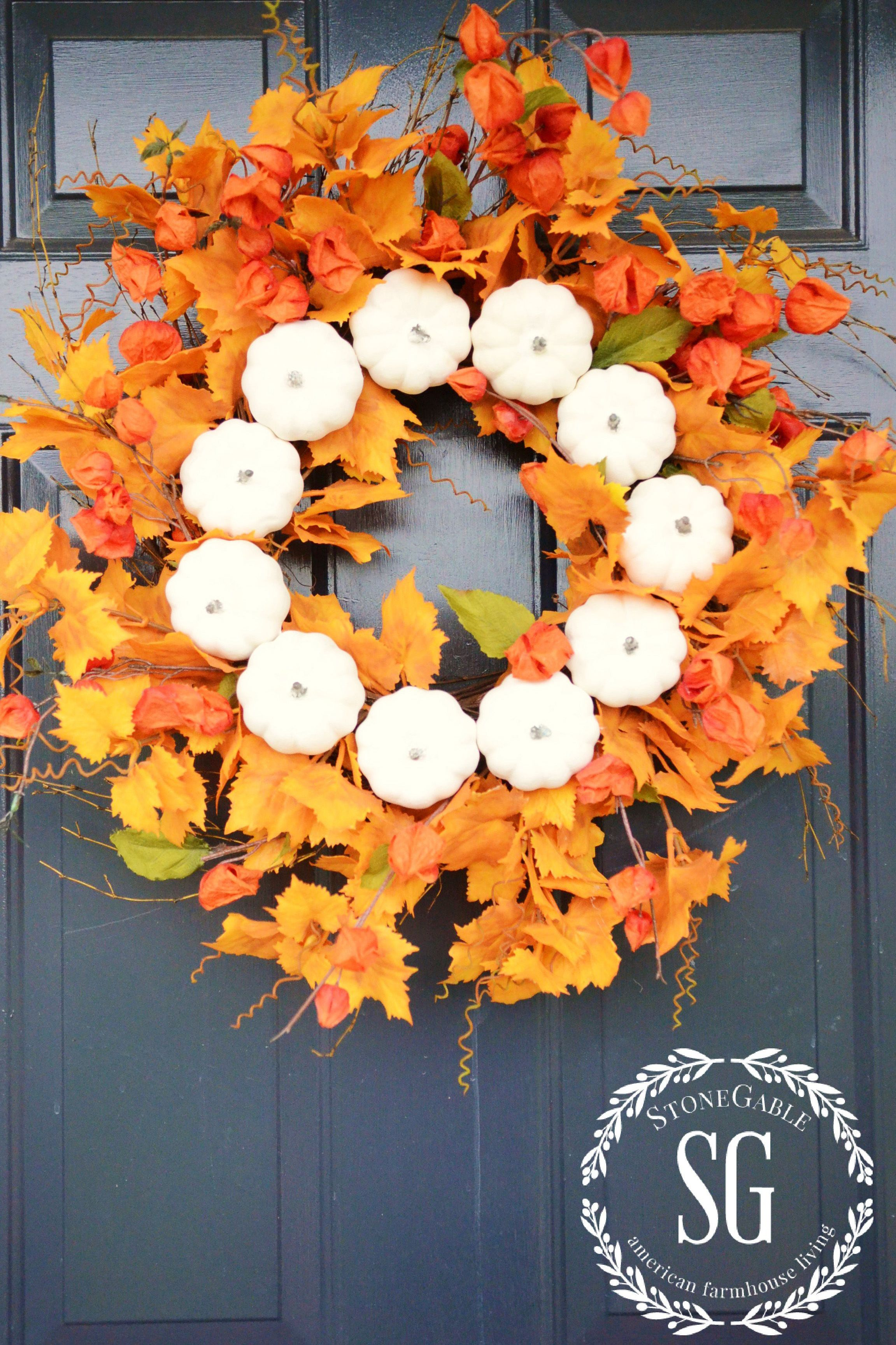 Beautiful 26 Easy DIY Fall Wreaths - Best Homemade Wreaths for Fall EY55