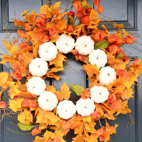 25 Easy Diy Fall Wreaths Best