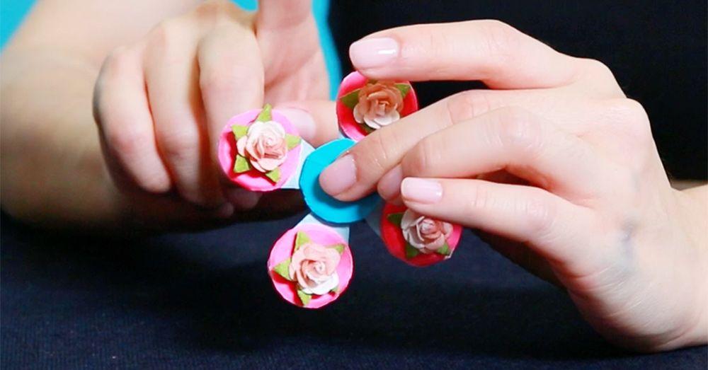 How to Make a Fidget Spinner - DIY Craft Tutorial