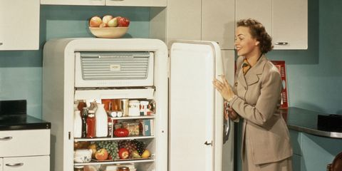 Food, Major appliance, Kitchen appliance, Home appliance, Blazer, Produce, Service, Food group, Employment, Oven,