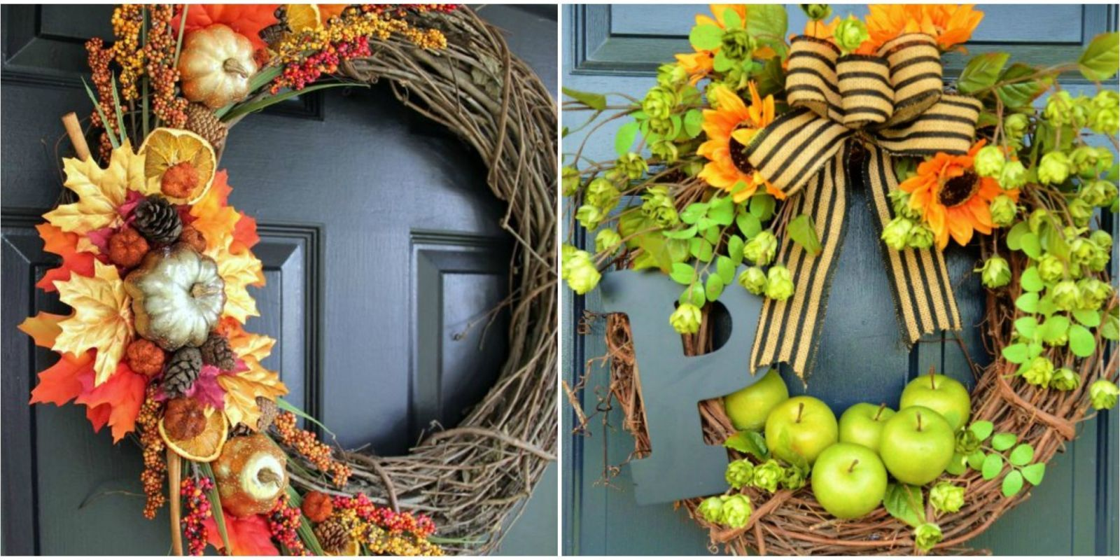 Fall Is The Prettiest Season Of The Year, Which Makes Decorating A Breath  Of Fresh Air. Get Your Front Door Ready For Sweater Weather With One Of  These ... Design Inspirations
