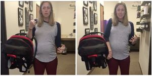 How To Carry A Car Seat Without Back Pain