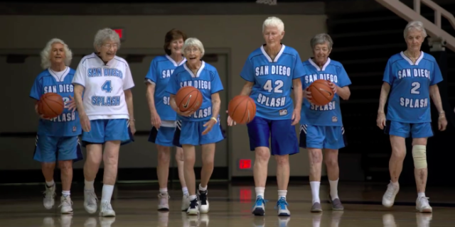 This Team of 80-Year-Old Female Basketball Players Proves Age Is Just a Number