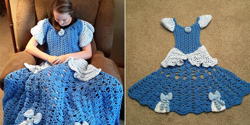 these disney princess crochet blankets are just too cute blanket
