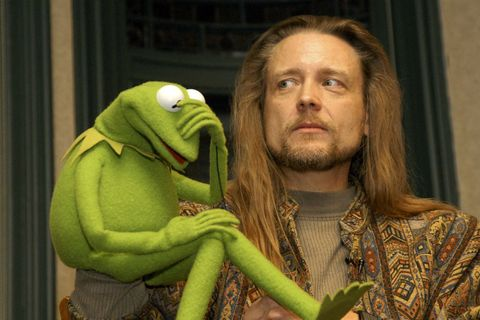 Steve Whitmire and Kermit the Frog