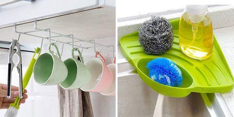 Green, Room, Bathroom accessory, Table, Pom-pom, Glass,