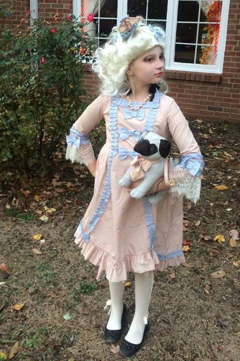 Popular Kids Halloween Costumes. EVE VAWTER. Marie Antoinette  sc 1 st  Good Housekeeping & 26 Best Halloween Costumes for Kids 2018 - Cute Ideas for Childrens ...