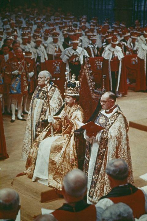 couronnement de la reine elizabeth