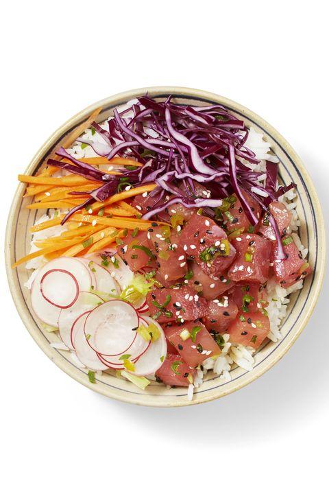 hawaiian tuna bowl