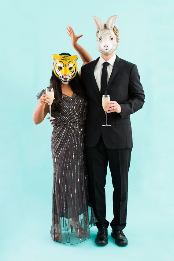 Party Animals Halloween Costumes for Couples