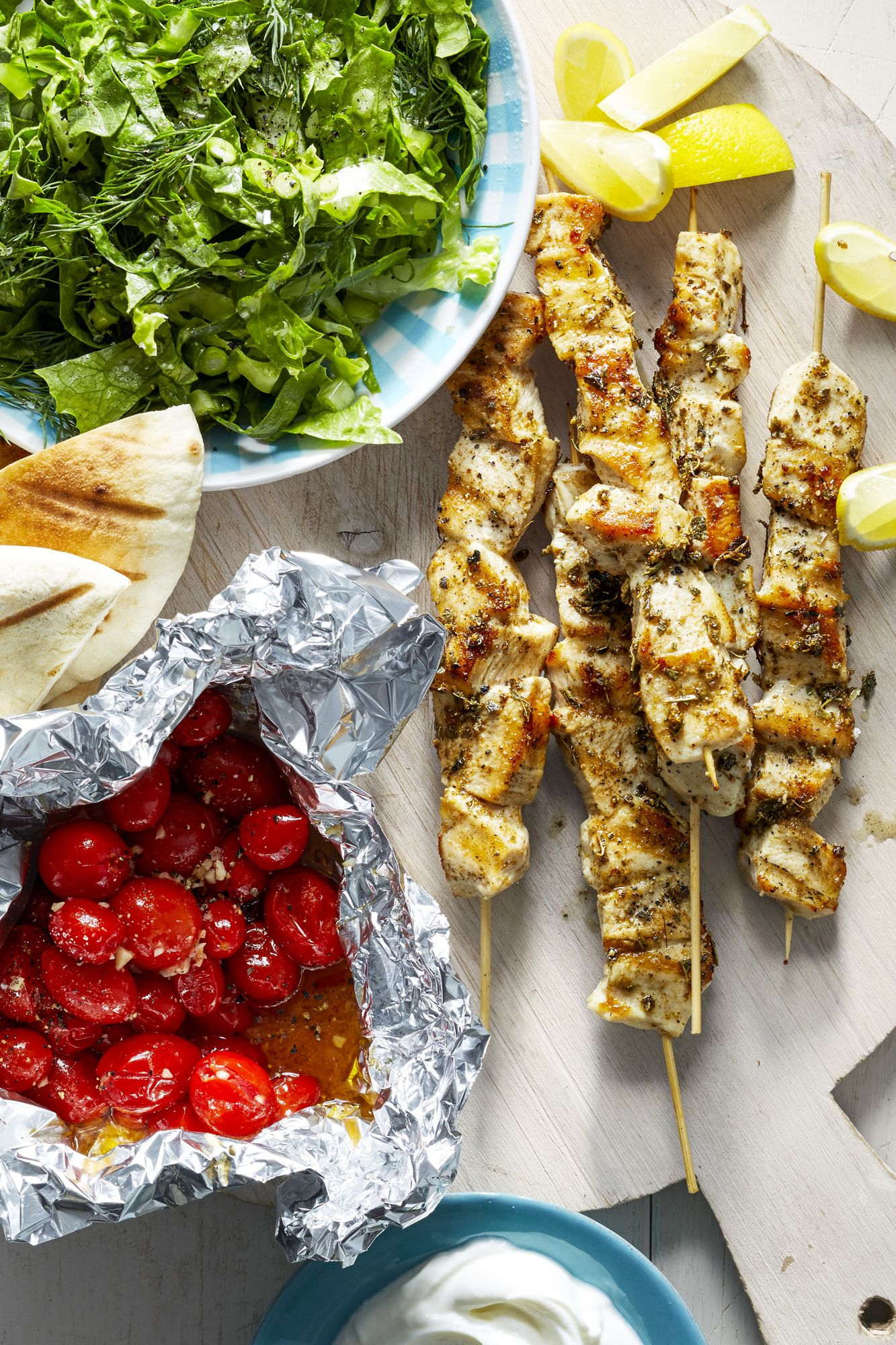 Best Chicken Souvlaki Skewers Recipe How To Make Chicken Souvlaki Skewers