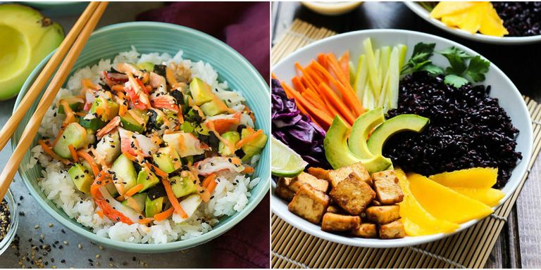 25 easy rice bowl recipes how to make healthy rice bowls for dinner rice bowl recipes forumfinder Gallery