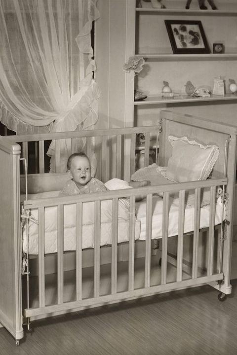 le baby-boom années 50