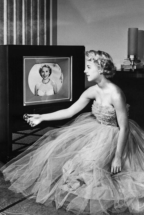 télévision couleur, annees 50