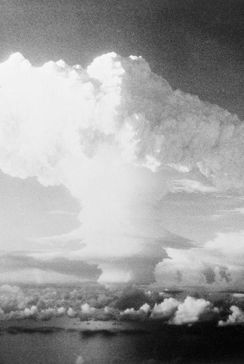 Bombe des îles Marshall, 50's