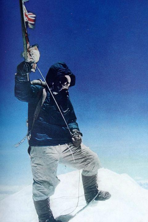 Tenzing Norgay, un alpiniste sherpa népalais, années 50