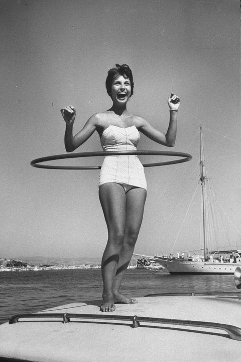 Hoola hoop, années 50