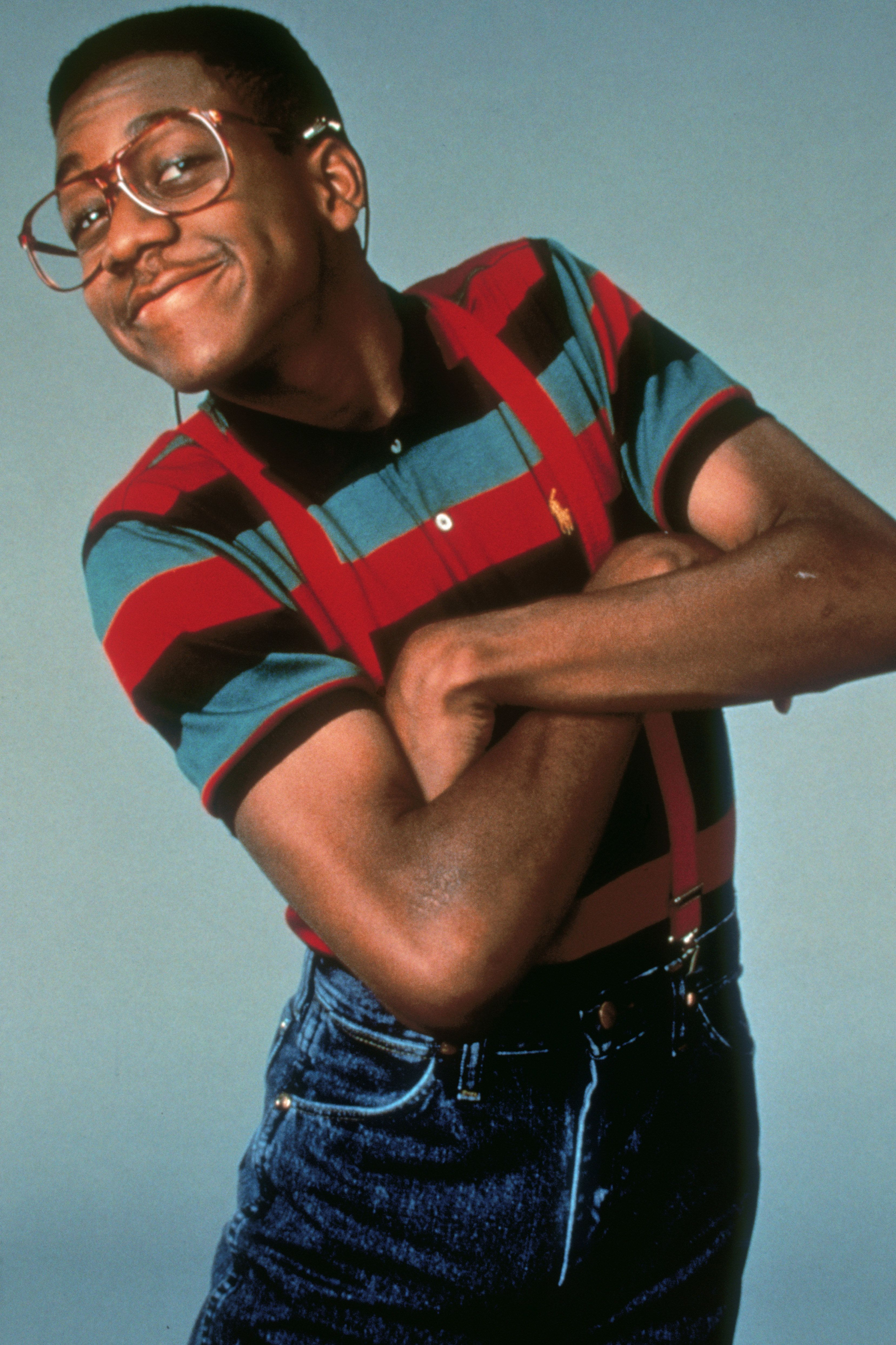 Guy actors nerdy Black and