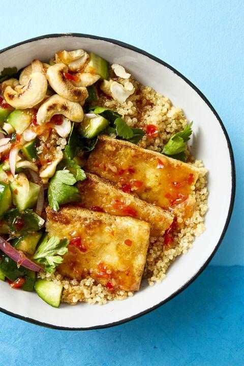 Crispy Tofu Bowl - Vegan Recipes