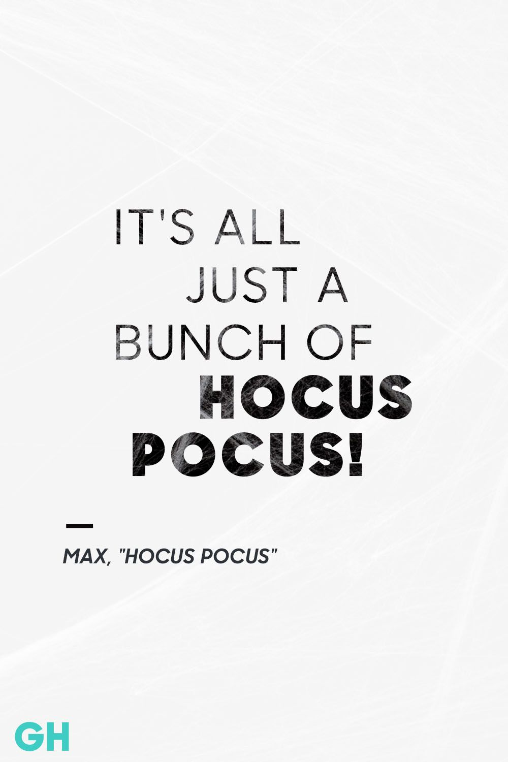 Hocus Pocus Halloween Quote