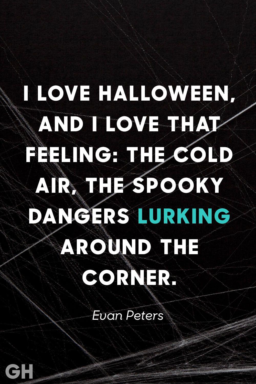 Spooky Halloween Quote