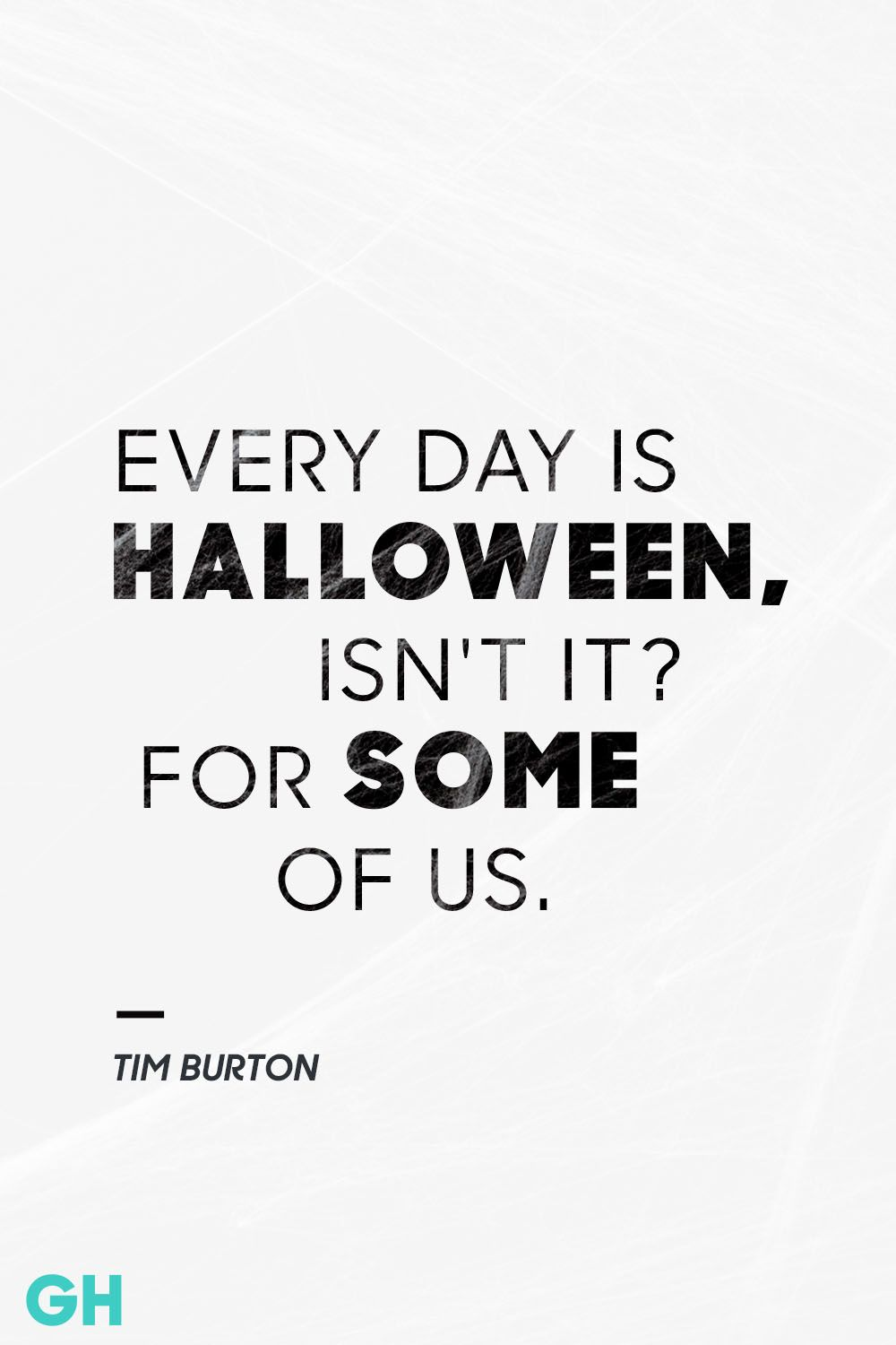 Tim Burton Halloween Quote