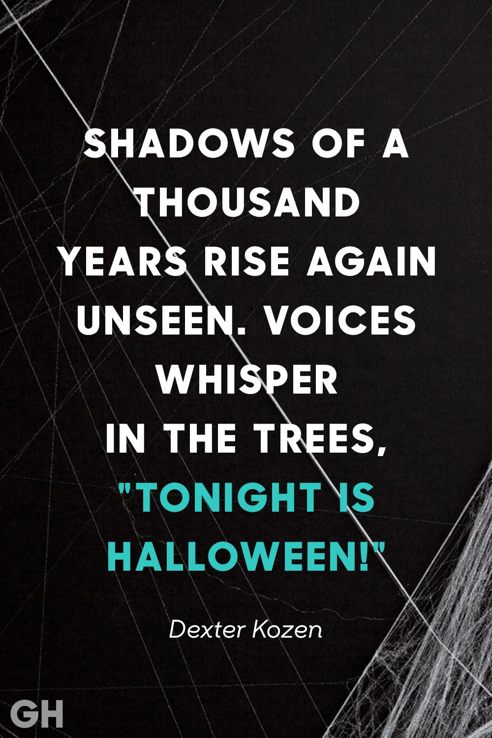 Delightful Tonight Is Halloween Quote