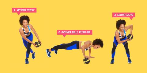These 3 Moves Will Get You Toned From Head to Toe