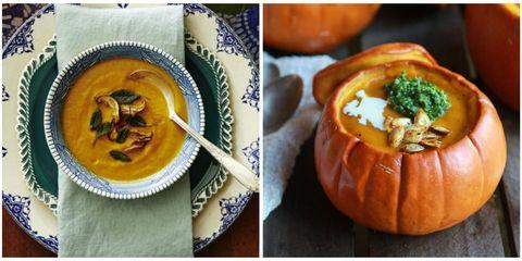 Pumpkin Soups Collage
