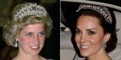 princess diana kate middleton jewelry