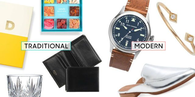 Contemporary Wedding Gifts: Best Anniversary Gifts By Year