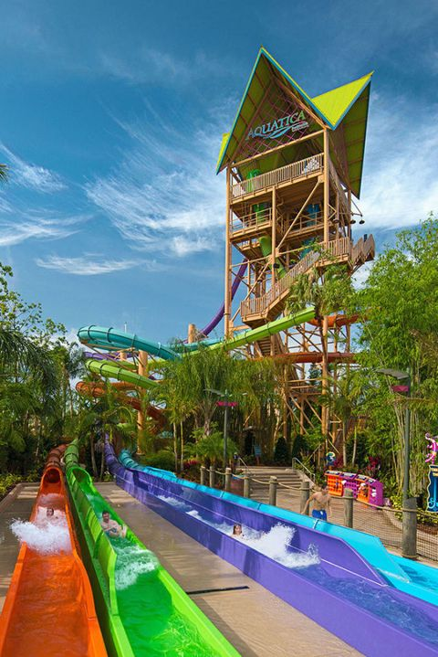 Water park, Swimming pool, Leisure, Majorelle blue, Amusement park, Architecture, Park, Recreation, Fun, Playground slide,