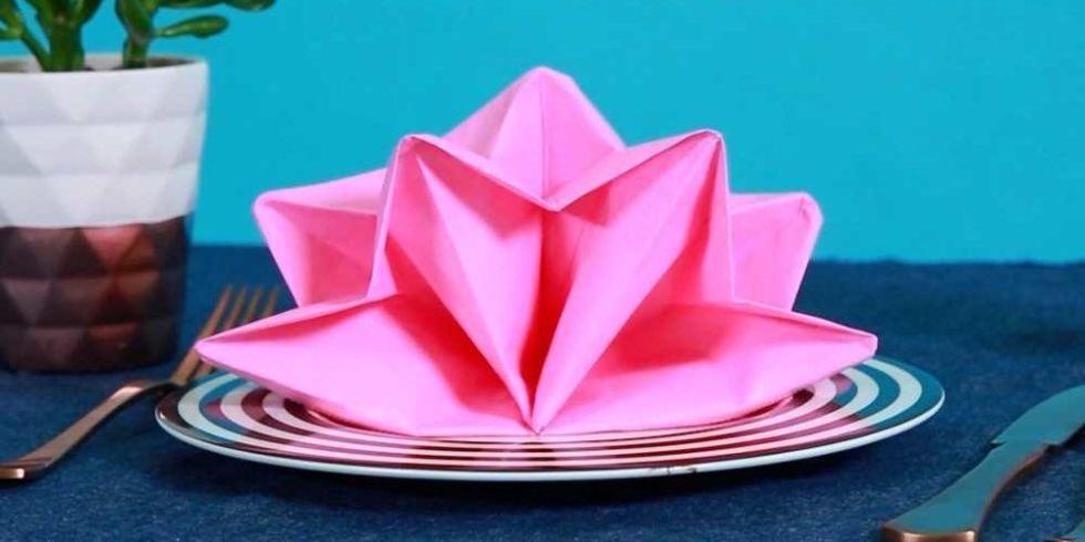 9 Best Napkin Folding Ideas How To Fold Fancy Napkins Videos