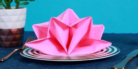9 Best Napkin Folding Ideas
