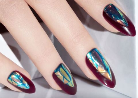image - 35 Fall Nail Art Ideas - Best Nail Designs And Tutorials For Fall 2017