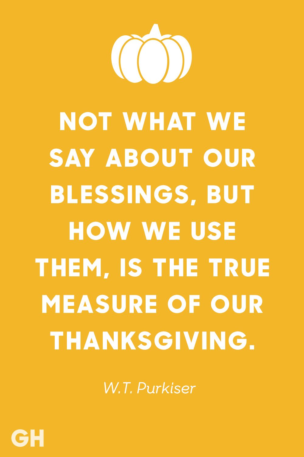 w. t. purkiser thanksgiving quote
