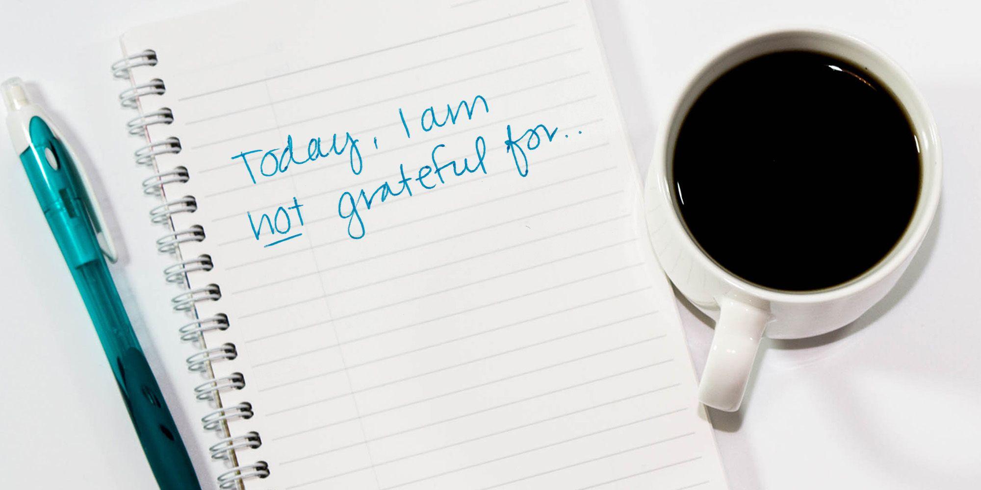 Gratitude Lists Are Bullsh*t — It Was an