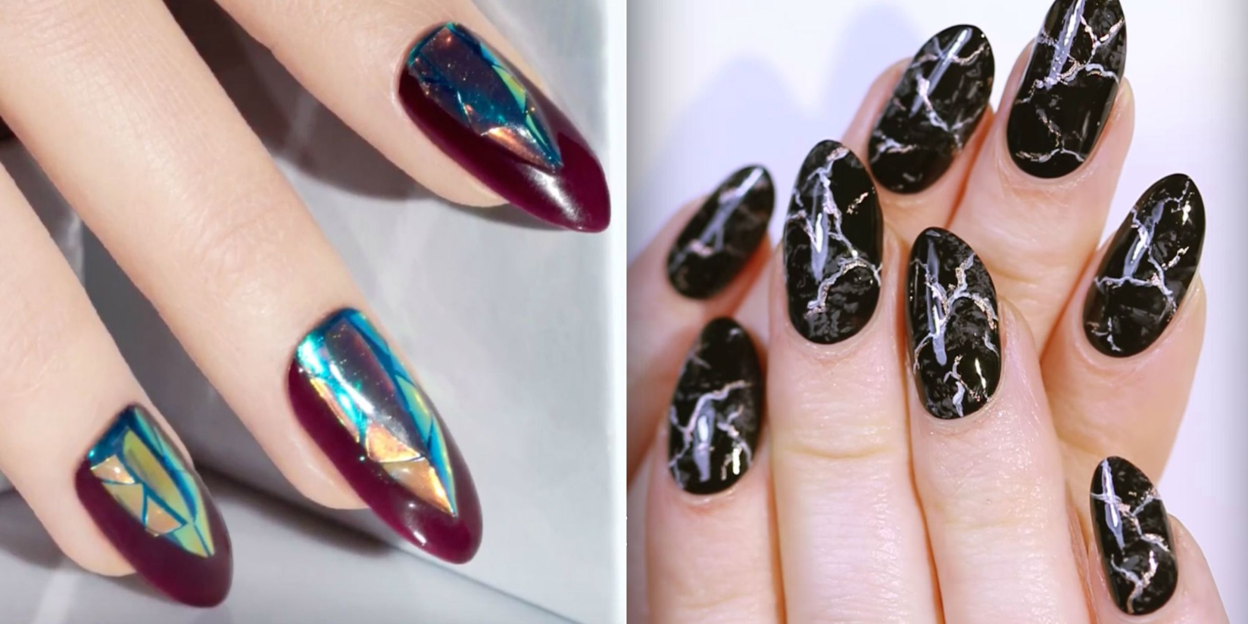 Exceptional From Dark And Moody Motifs To Back To School Designs, These Nail Art Ideas  Will Have You U2014 And Your Nails U2014 Covered All Autumn Long.