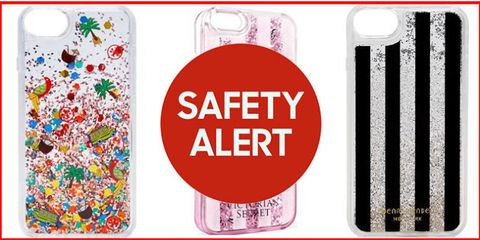 53dc3a9520 Manufacturer MixBin Electronics has announced a recall of nearly 275,000 glitter  phone cases after reports that liquid was leaking from them and causing ...