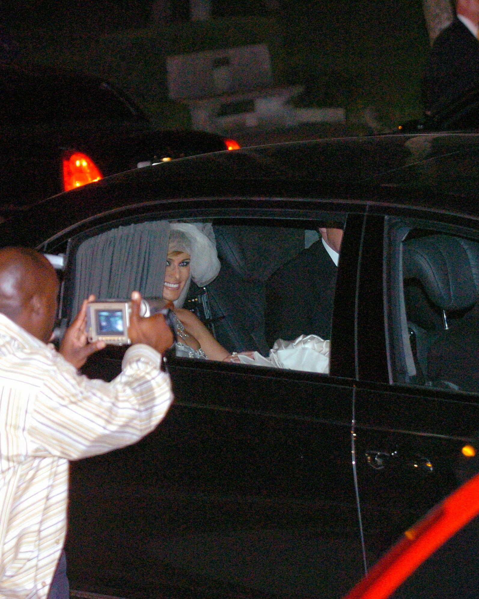 melania trump wedding