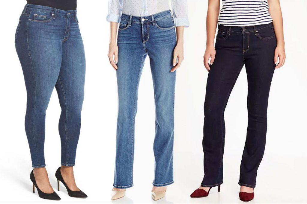 Is the size of a girl's butt in jeans the same size as it is naturally?