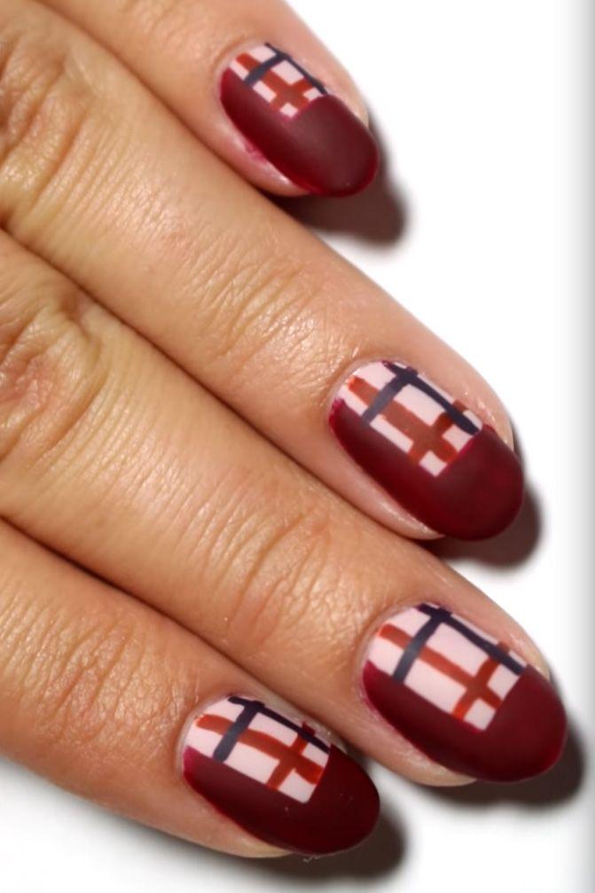 nail art para acción de gracias