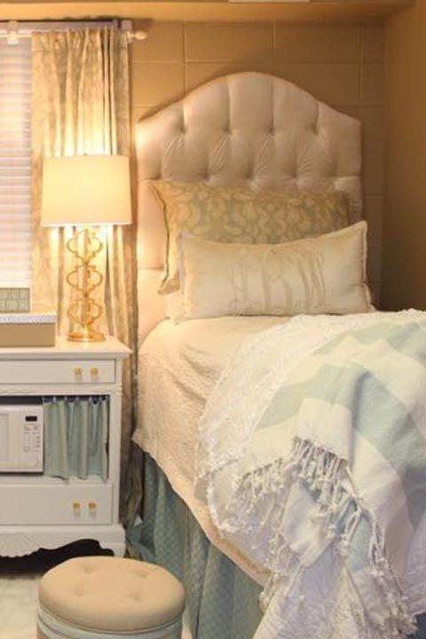 Dorm Room Headboards: Decor & Storage Items For College