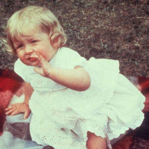 lady diana spencer baby photo
