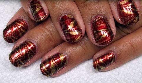 image - 25 Thanksgiving Nail Art Designs - Ideas For November Nails