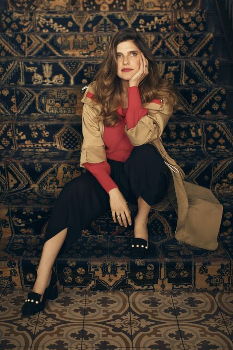 """<p>You know how bold red lips make a neutral look come alive? A touch of this color has the same effect on your outfit.<br> </p><p><em data-redactor-tag=""""em""""><strong data-redactor-tag=""""strong"""">Jacket</strong>, $398, <a href=""""http://artizia.com"""" target=""""_blank"""" data-tracking-id=""""recirc-text-link"""">artizia.com</a>. <strong data-redactor-tag=""""strong"""">Sweater</strong>, $247, <a href=""""http://demylee.com"""" target=""""_blank"""" data-tracking-id=""""recirc-text-link"""">demylee.com</a>. <strong data-redactor-tag=""""strong"""">Pants</strong>, $110, <a href=""""http://artizia.com"""" target=""""_blank"""" data-tracking-id=""""recirc-text-link"""">aritzia.com</a>. <strong data-redactor-tag=""""strong"""">Loafers</strong>, $109, <a href=""""http://lordandtaylor.com"""" target=""""_blank"""" data-tracking-id=""""recirc-text-link"""">lordandtaylor.com</a>.</em> </p>"""